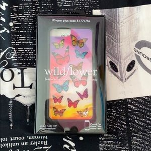 I phone 6+/7+/8+ limited edition butterfly case